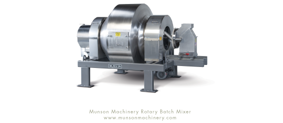 Munson Rotary Batch Mixer